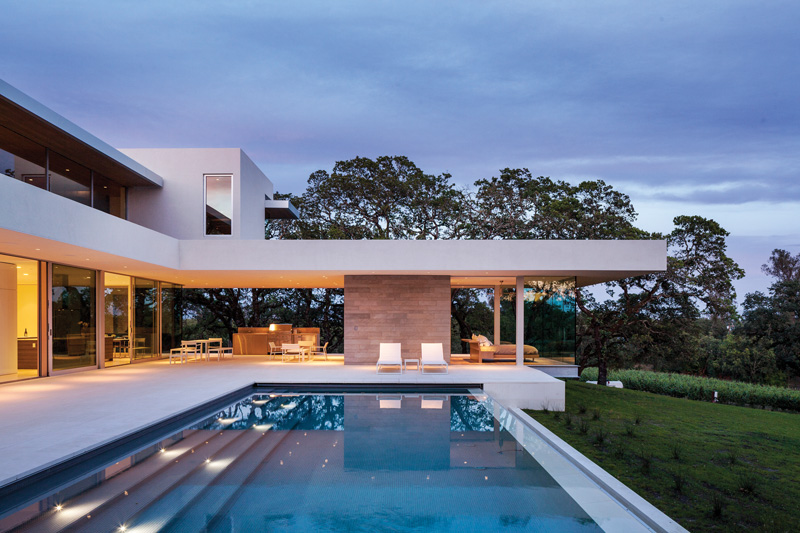 Retrospect Vineyards House by Swatt Miers Architects