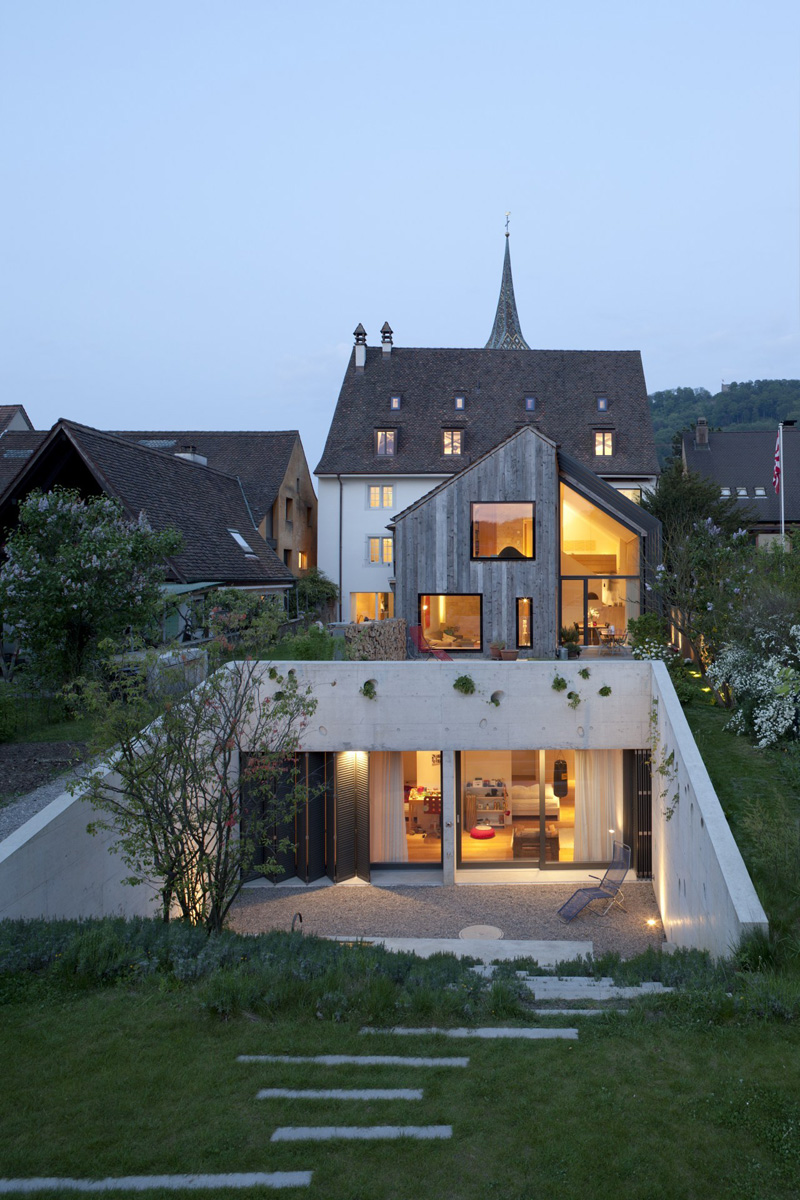 Kirchplatz Office + Residence by Oppenheim Architecture + Design