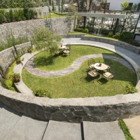 A Former Cockfighting Arena Has Been Converted Into A Lovely Garden