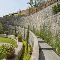 A Former Cockfighting Arena Has Been Converted Into A Lovely Garden