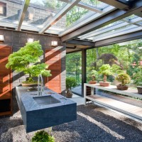 Glass House In The Garden By Flavin Architects And Zen Associates