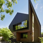 A House That Greets You With A Pointy Protruding Entrance