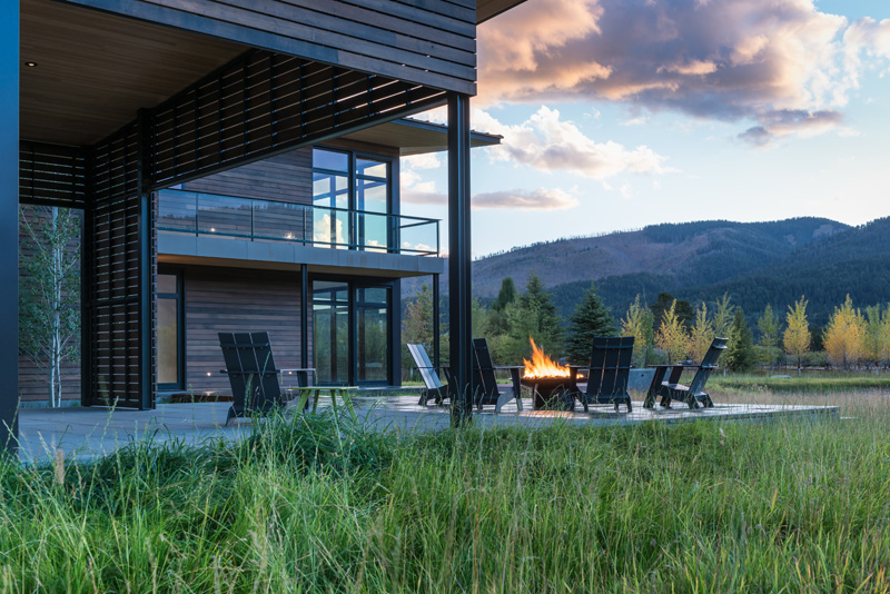 Shoshone Residence By Carney Logan Burke Architects