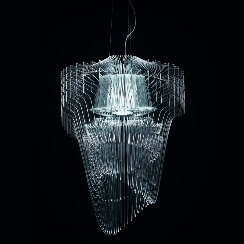 Aria Transparente Chandelier By Zaha Hadid Architects