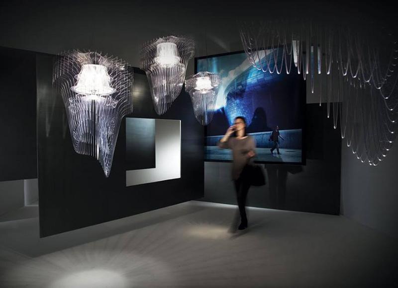 Aria Transparente Chandelier By Zaha Hadid Architects