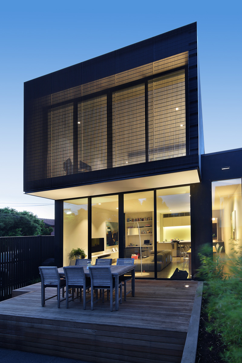 Cube house by carr design group contemporist for Modern cube house plans