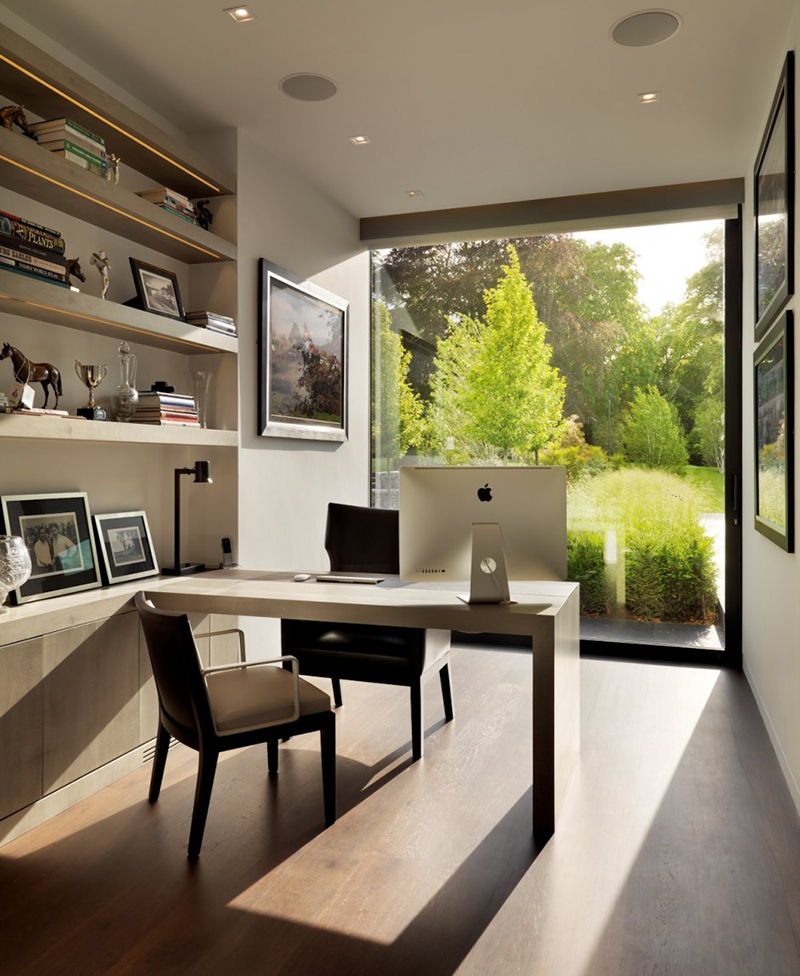 7 Examples Of Home Offices With Views
