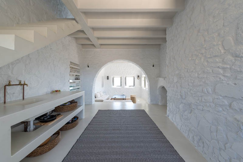 A respectful contemporary update for a historic house in for Greek interior design history