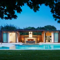 Modern Pool House Retreat by ICRAVE