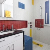 A Mondrian Inspired Bathroom By Alloy Workshop