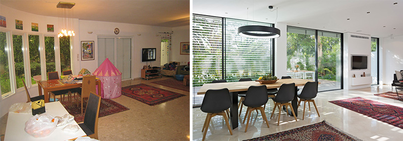 Before And After - A Contemporary Update For A 1980s House ...