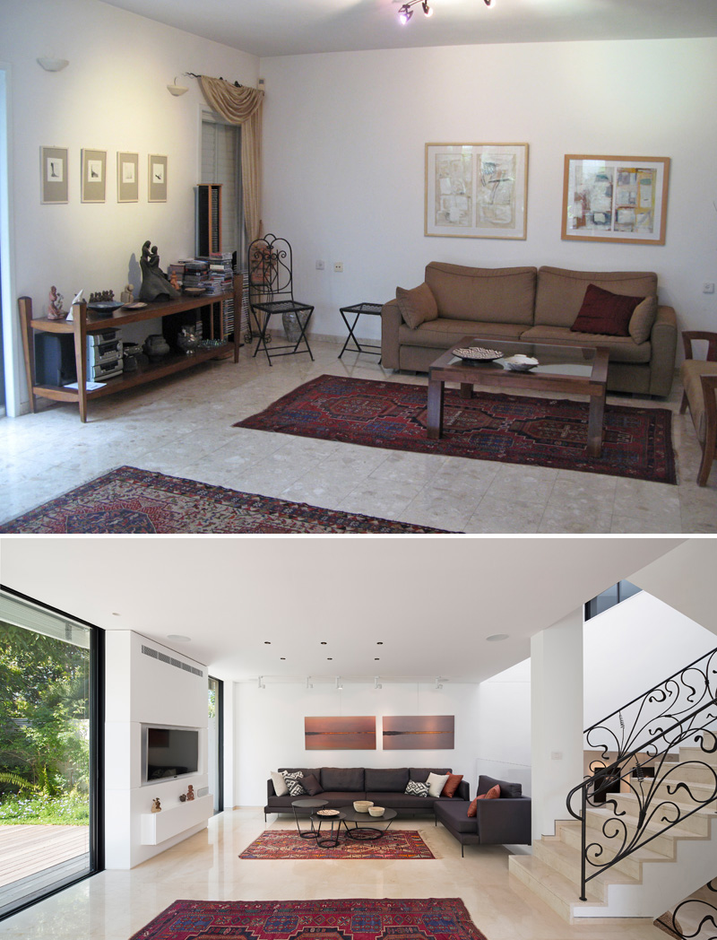 Before And After - A Home In Israel