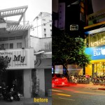 Before & After – An Ice Cream Shop In Vietnam