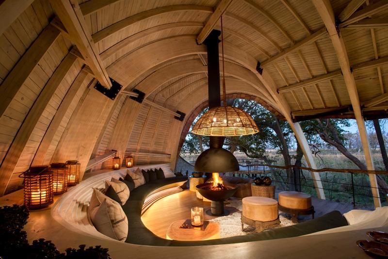 Sandibe Okavango Safari Lodge by Michaelis Boyd and Nick Plewman