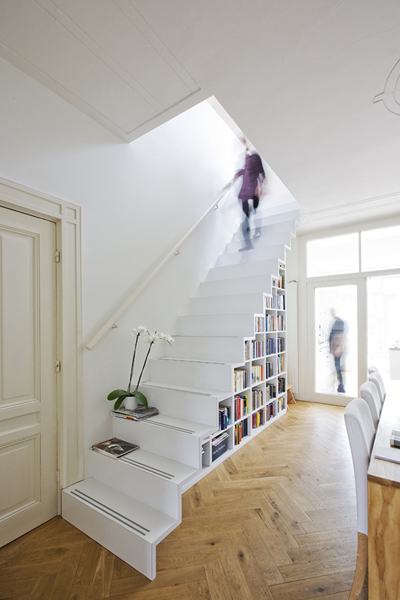 The Overtoom Staircase By Marc Koehler Architects
