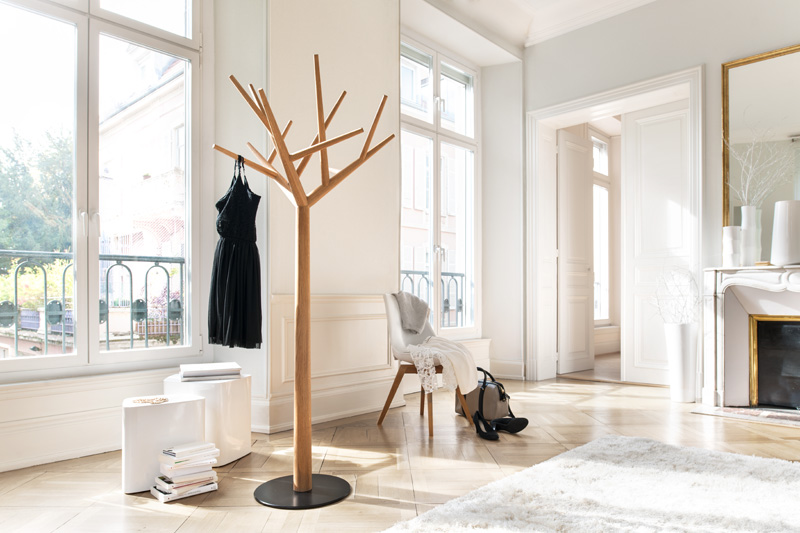 Y Coat Stand by Baptiste Ducommum for Klybeck