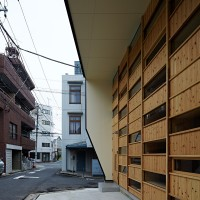 Checkered House By Takeshi Shikauchi Architect Office