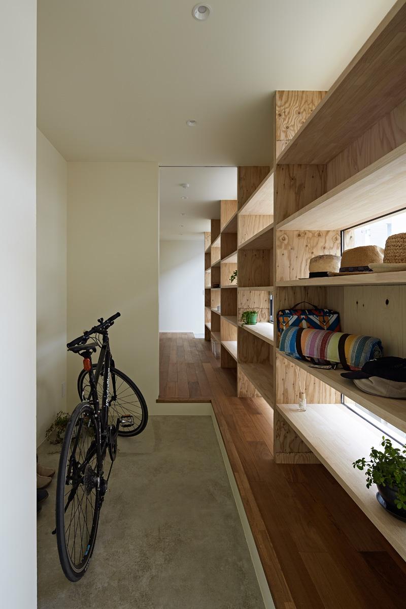 Checkered House By Takeshi Shikauchi Architect Office
