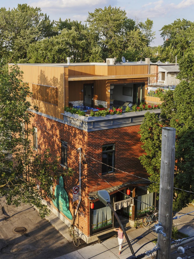 MU Architecture Design An Apartment Above A Restaurant