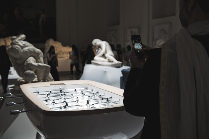 The Pure Foosball Table By Alain Gilles