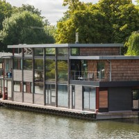 Houseboat On Tagg's Island By MAA Architects