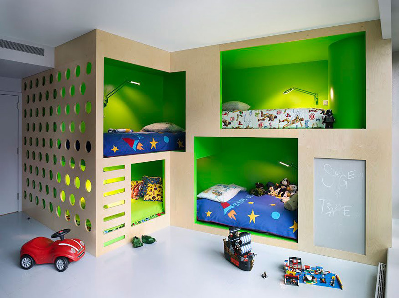 Contemporary Children s Bedrooms 8 Rooms You Wish Grew Up In  CONTEMPORIST
