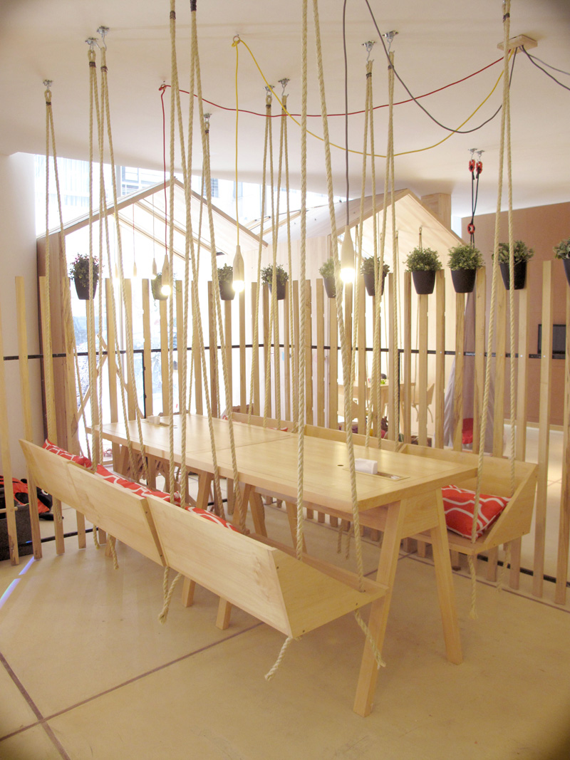 This Cafe Was Designed To Be Fun And Playful For Adults