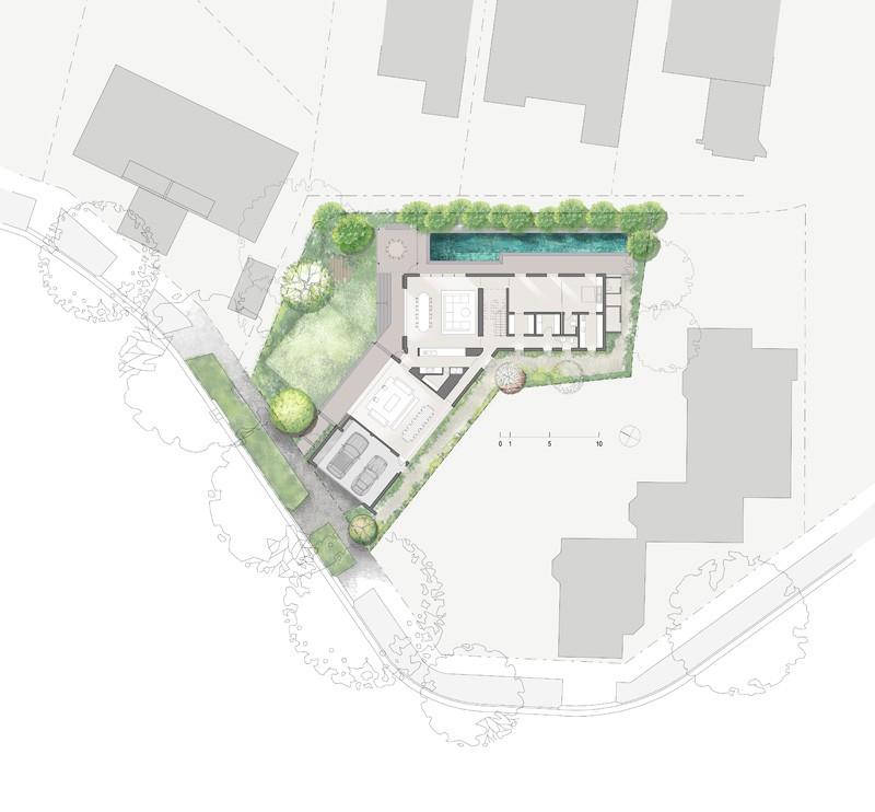 طراحی و معماری خانه ای ویلایی در استرالیا