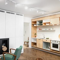 Hidden Kitchen In An Apartment By dontDIY