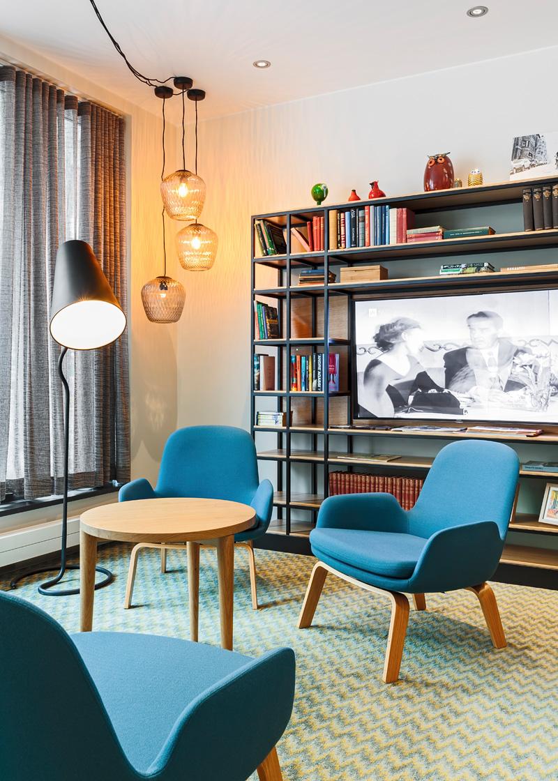 Hotel Indigo Helsinki Boulevard By Architects Soini & Horto