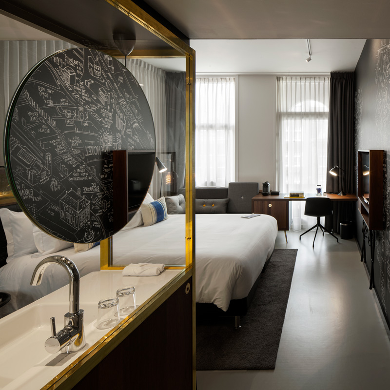 INK Hotel Amsterdam By Concrete Architectural Associates