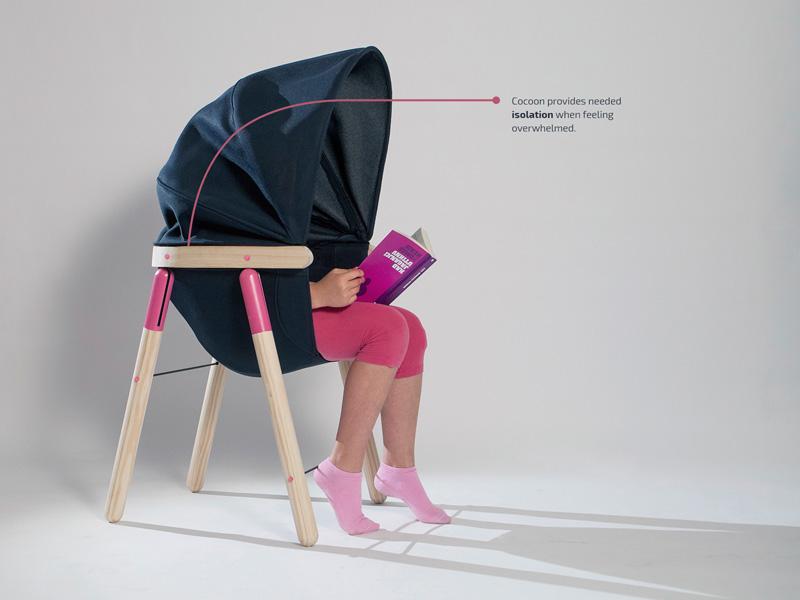 Soothing Chair By Dorja Benussi