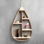 This Hanging Shelf Was Inspired By The Classic Teardrop Shape