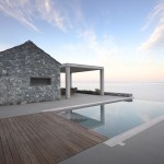 A Contemporary Greek Home Clad In Local Arcadian Stone