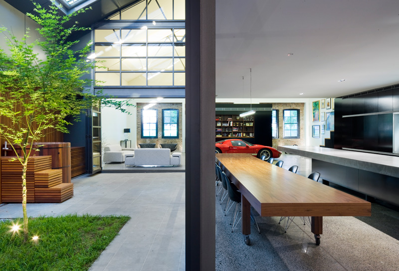 Inner West Warehouse By Corben Architects