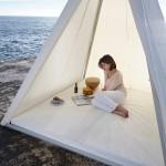 José Antonio Gandia-Blasco Designs A Pyramid Shaped Tent