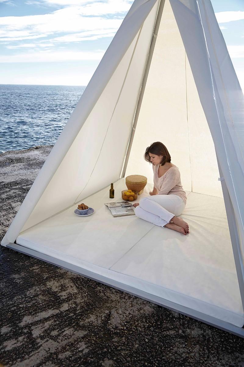 Wigwam By Gandia Blasco & José Antonio Gandia-Blasco Designs A Pyramid Shaped Tent ...