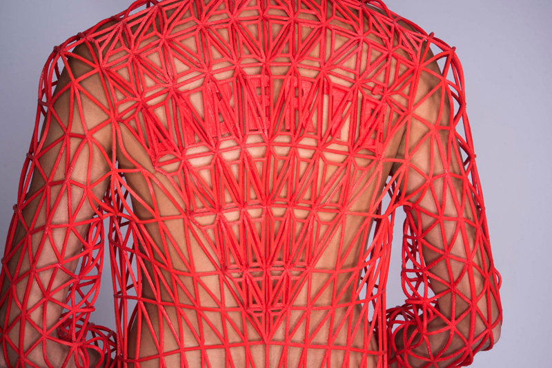 Danit Peleg Created Her Fashion Collection At Home Using 3D Printers