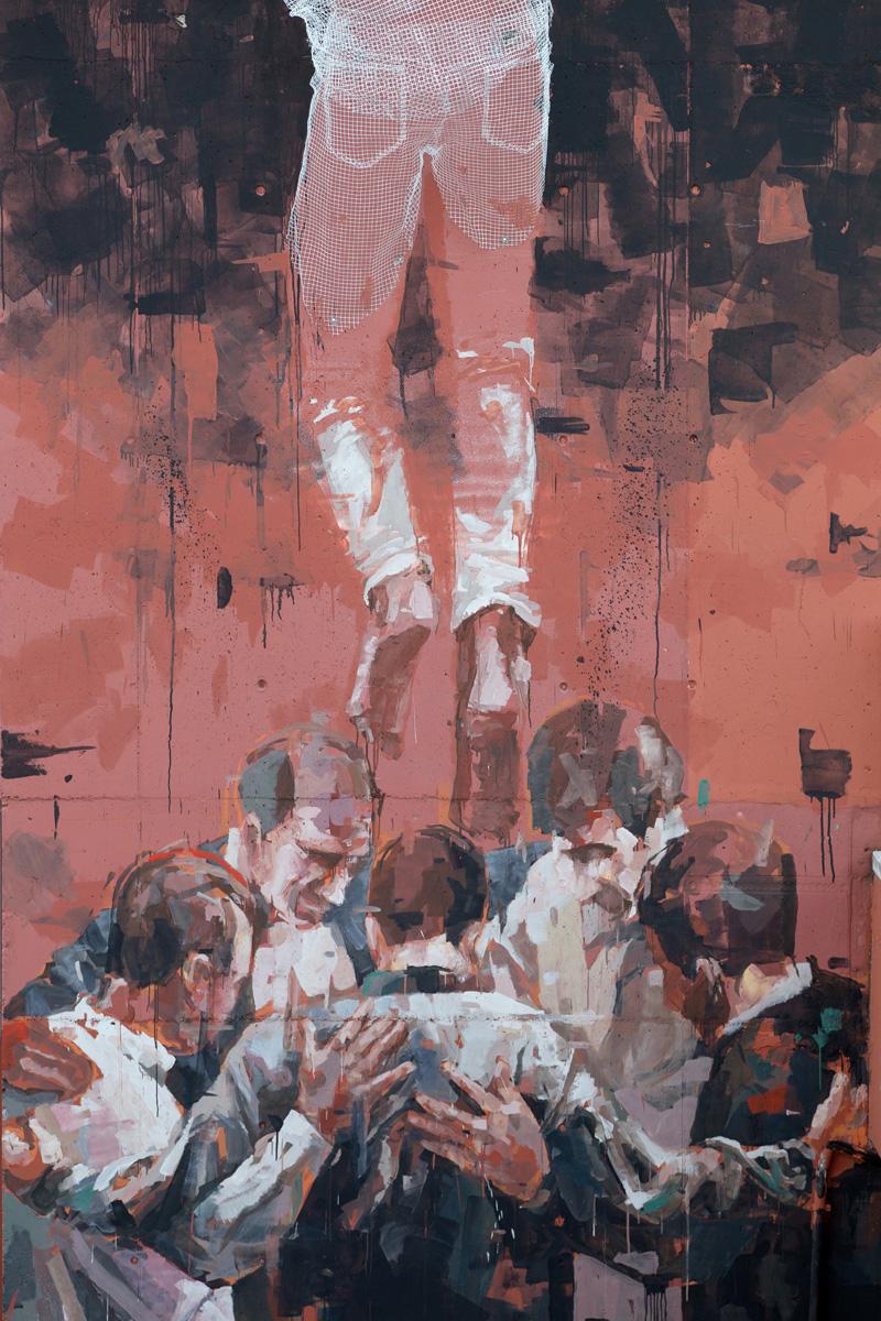 CHAINED By Edoardo Tresoldi And Gonzalo Borondo