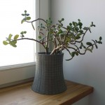 Bertrand Jayr Designs Concrete Flower Pots Inspired By Nuclear Power Plants