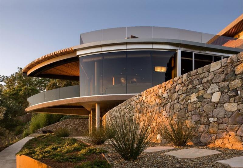 a coastal california home of glass and stone contemporist rh contemporist com