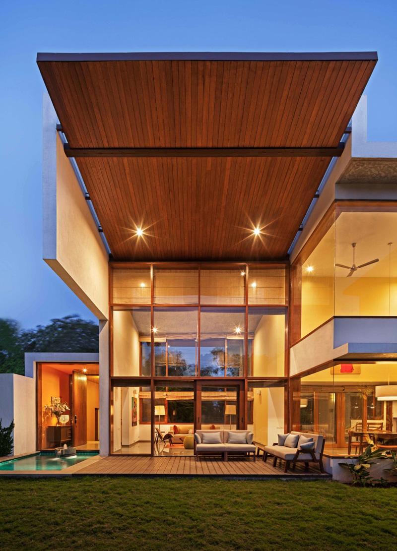 L-Plan House By Khosla Associates