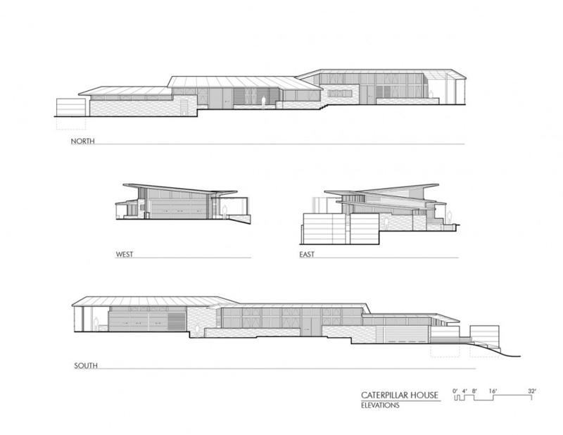 The Caterpillar House By Feldman Architecture