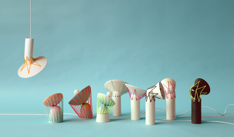 Elastic Lights By Marta Bordes