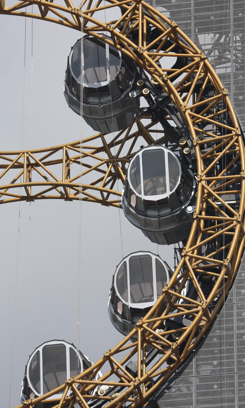 Golden Reel By Intamin Amusement Rides Int. Corp. And Studio City Macau