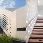 Design Detail – A Gradient Of Small Windows For A Stairwell