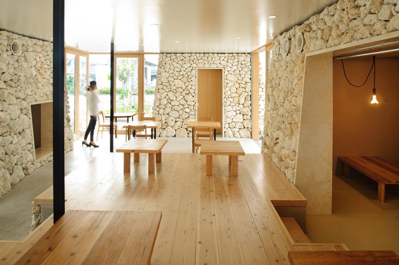Itoman Gyomin Syokudo By Yamazaki Kentaro Design