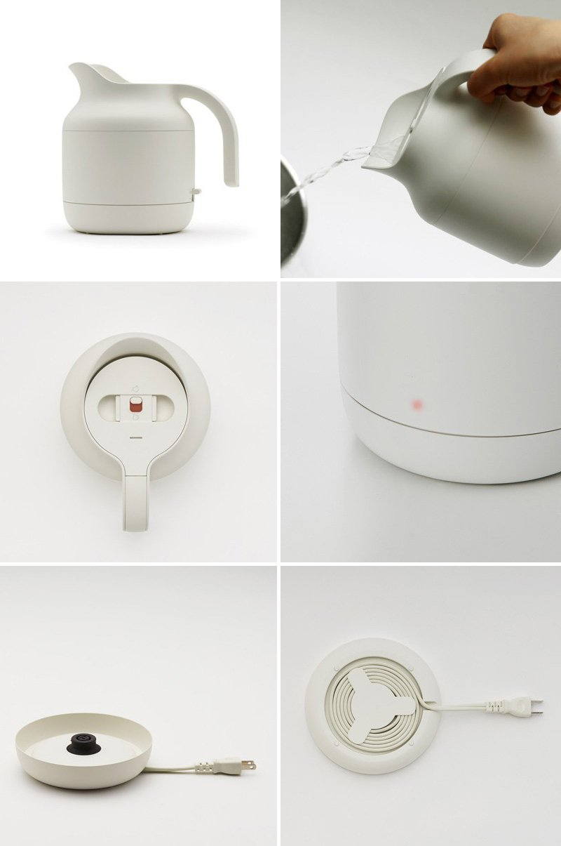 Minimalist Kitchen Appliances By Naoto Fukasawa For MUJI
