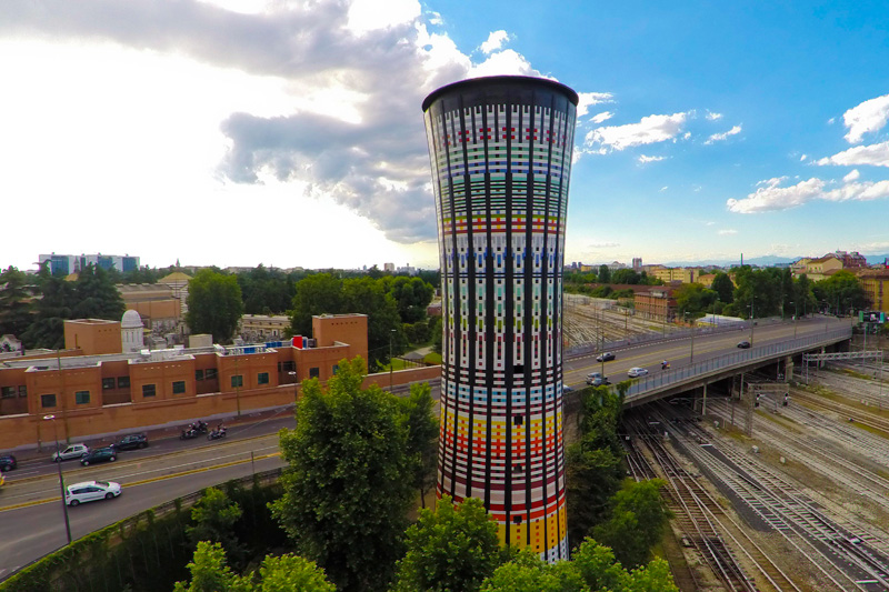 Torre Arcobaleno (or Rainbow Tower) by Studio Original Designers 6R5 Network