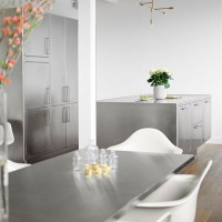 Stainless Steel Kitchen - Ego by Abimis